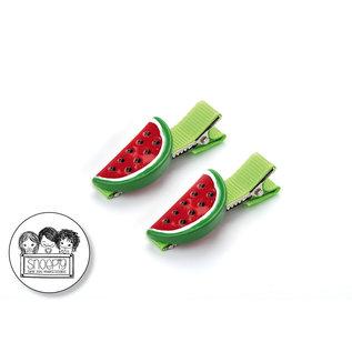 Snoepig Snoepig Haarknipjes - Watermeloen