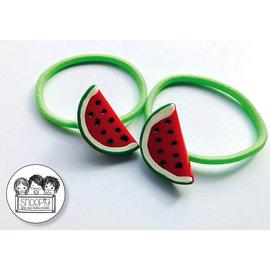 Snoepig Snoepig NeonHaarelastiek Watermeloen