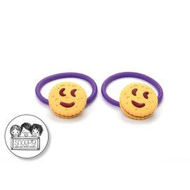 Snoepig Snoepig Haarelastiek - Smile Koekjes