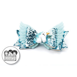 Snoepig Snoepig Unicorn Wings Strik - Mint Groen