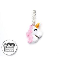 Snoepig Snoepig Ketting Unicorn - Roze