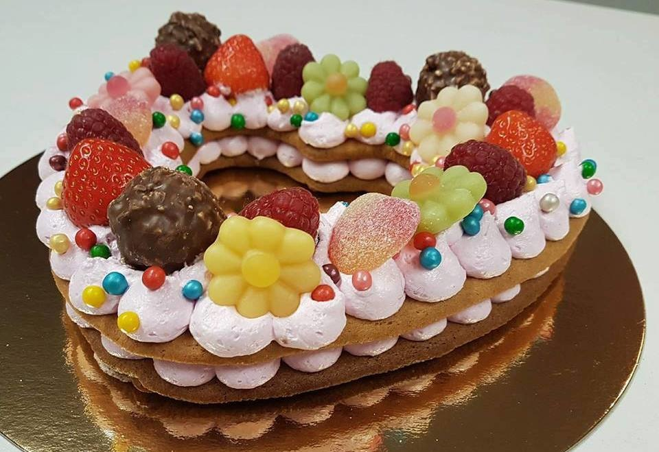Cookie cake maken