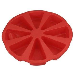 Pizza vorm 8 punten siliconen