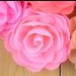 Snoepig Snoepig HaarKnipje Chiffon Bloemen - 7 Licht Roze