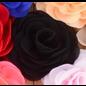 Snoepig Snoepig HaarKnipje Chiffon Bloemen - 18 Zwart