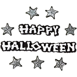 Wilton Wilton Icing Decorations Happy Halloween pk/12