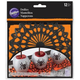 Wilton Wilton Mini Doilies Spider Web pk/12