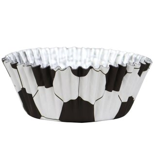 PME PME Foil Lined Baking Cups Football pk/30