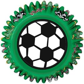 Wilton Wilton Baking cups Soccer pk/50