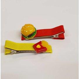 Snoepig Snoepig Haarknipjes - Fast Food