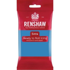 Renshaw Renshaw Rolfondant Extra 250g -Turqoise-
