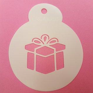 Stencil Pakje / Cadeautje