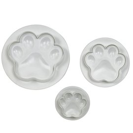 PME PME Paw/Poot Plunger Cutter Set/3