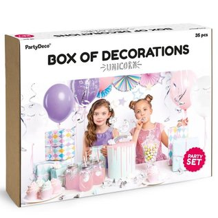 PartyDeco Party Decorations Set - Unicorn