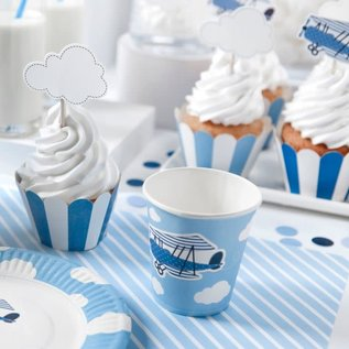 PartyDeco Cupcake Wrappers Mix Set/6
