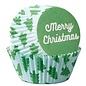 Wilton Wilton Baking Cups Merry Christmas pk/75