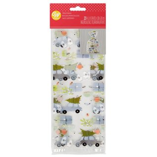 Wilton Wilton Treat Bags Winter Wishes pk/20