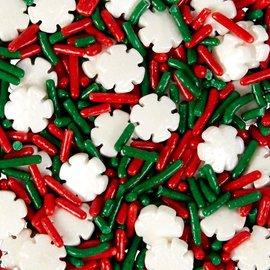 Wilton Wilton Sprinkles Snowflake Mix 110g