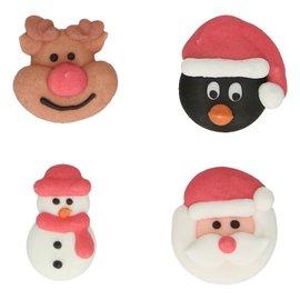 FunCakes FunCakes Suikerdecoratie Kerstmis Set/8