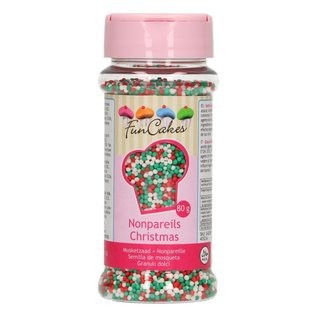 FunCakes FunCakes Musketzaad -Christmas/Kerst- 80g