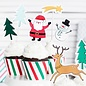 PartyDeco Cake Toppers Merry Xmas Set/7