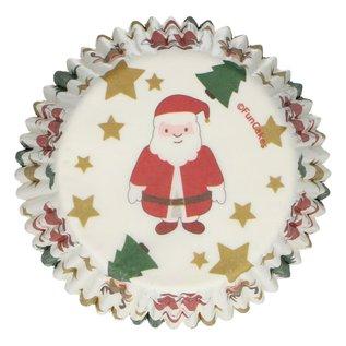 FunCakes FunCakes Baking Cups -Christmas- pk/48