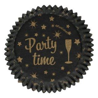 FunCakes FunCakes Baking Cups -Party Time- pk/48