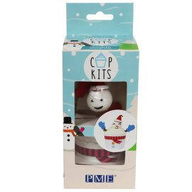 PME PME Cup Kit Snowman pk/6