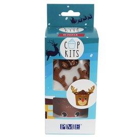 PME PME Cup Kit Rudolf pk/6