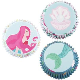 PME PME Baking Cups Mermaid pk/60