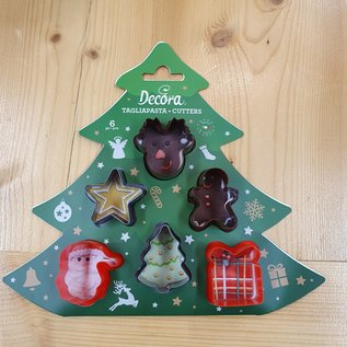 Decora Decora mini kerst uitstekers