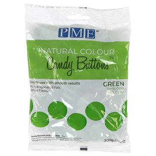 PME PME Natural Colour Candy Buttons Green 200g