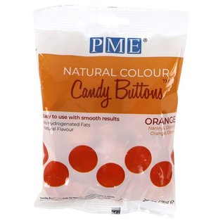 PME PME Natural Colour Candy Buttons Orange 200g