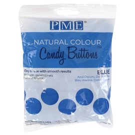 PME PME Natural Colour Candy Buttons Blue 200g