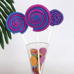 PME PME Natural Colour Candy Buttons Blue 200g