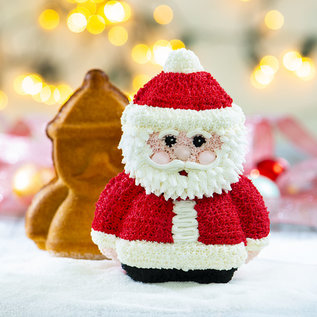 Decora 3D Kerstman bakblik