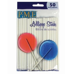 PME PME Lollipop Sticks -11,5 cm- pk/50