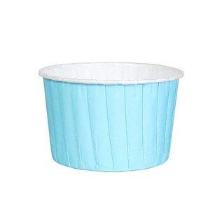 CupcakeCups Licht Blauw 60mm- pk/24