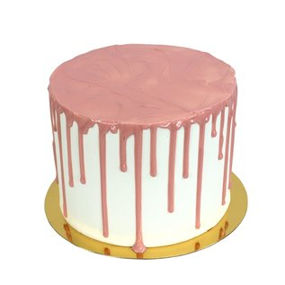 PME PME Pink Chocolate Flavoured Luxury Cake Drip 150g