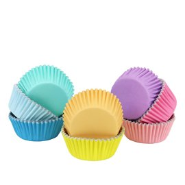 PME PME Baking Cups Pastel Colour pk/100