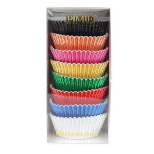 PME PME Baking Cups Metallic Colour pk/100