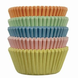 PME PME Mini Baking cups Pastel pk/100