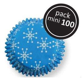 PME PME Snowflakes Mini Baking Cups Pk/100
