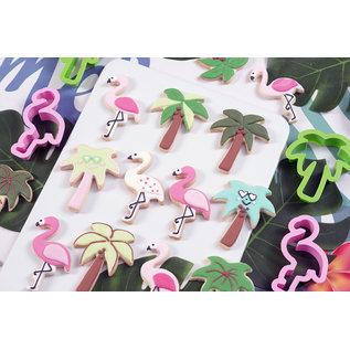Decora Decora Flamingo & Palmboom Uitsteker