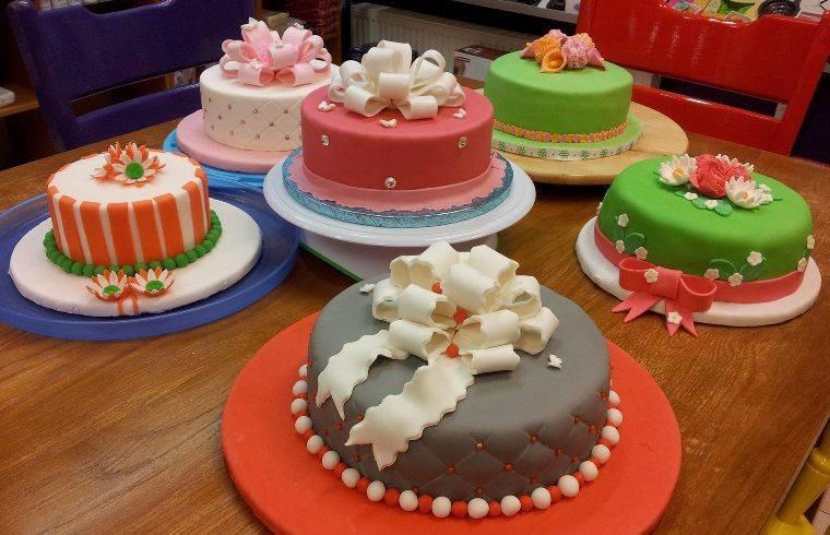 Welke hoeveelheden en verhoudingen heb je nodig voor je taart?