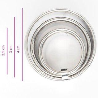 Koekjes Uitsteker Ring set/3
