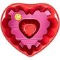 Wilton Wilton Fluted Tube Heart Pan -15cm-