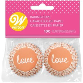 Wilton Wilton Mini Baking Cups Otterly in Love pk/100