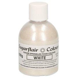 sugarflair Sugarflair Sugar Sprinkles -White- 100g