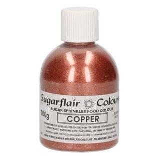 sugarflair Sugarflair Sugar Sprinkles -Copper- 100g